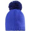 Jack Wolfskin Paw Knit Hoofdbedekking Kinderen blauw
